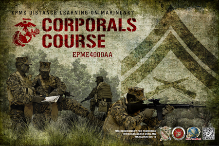 Cdet Corporals Course Distance Education Program